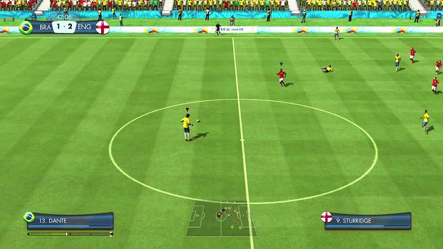 Here s some new gameplay from 2014 FIFA World Cup Brazil Demo  showing    Fifa 2014 World Cup Gameplay