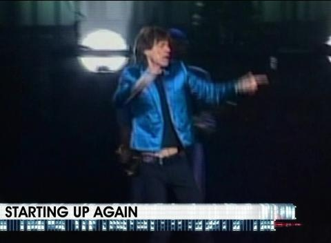 News video: Rolling Stones Resume Tour Following L'Wren Scott Suicide