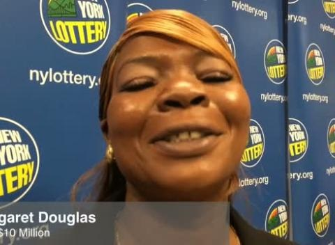 News video: Lottery Winners Celebrate Big Payoffs